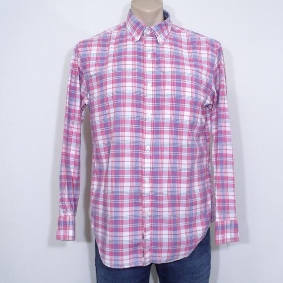 J. Crew Plaid Button Up Shirt